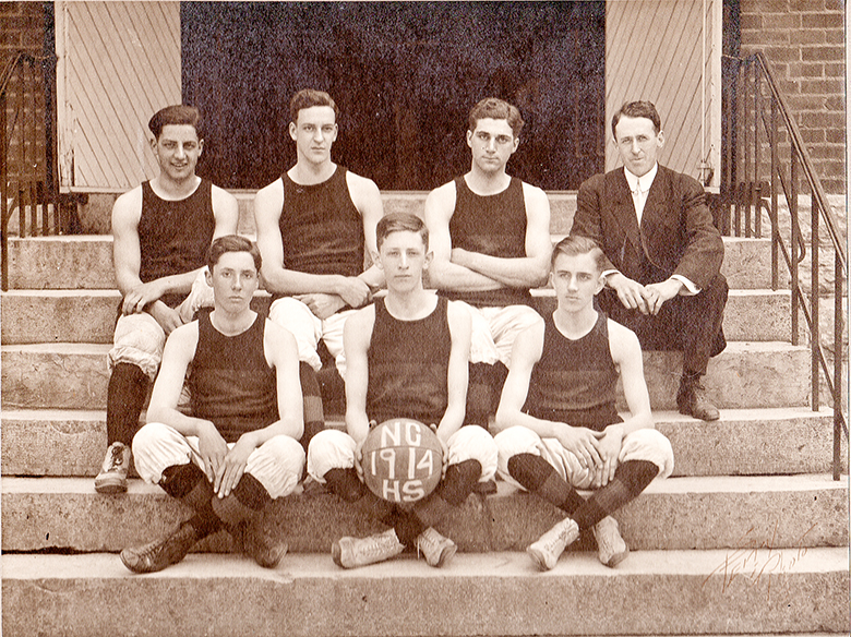 NCHS 1914 Basketball Team copy