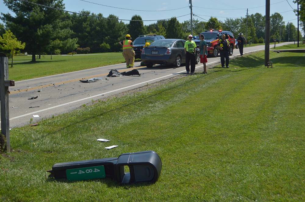 Car Accident On Rt  New Springfield Ohio
